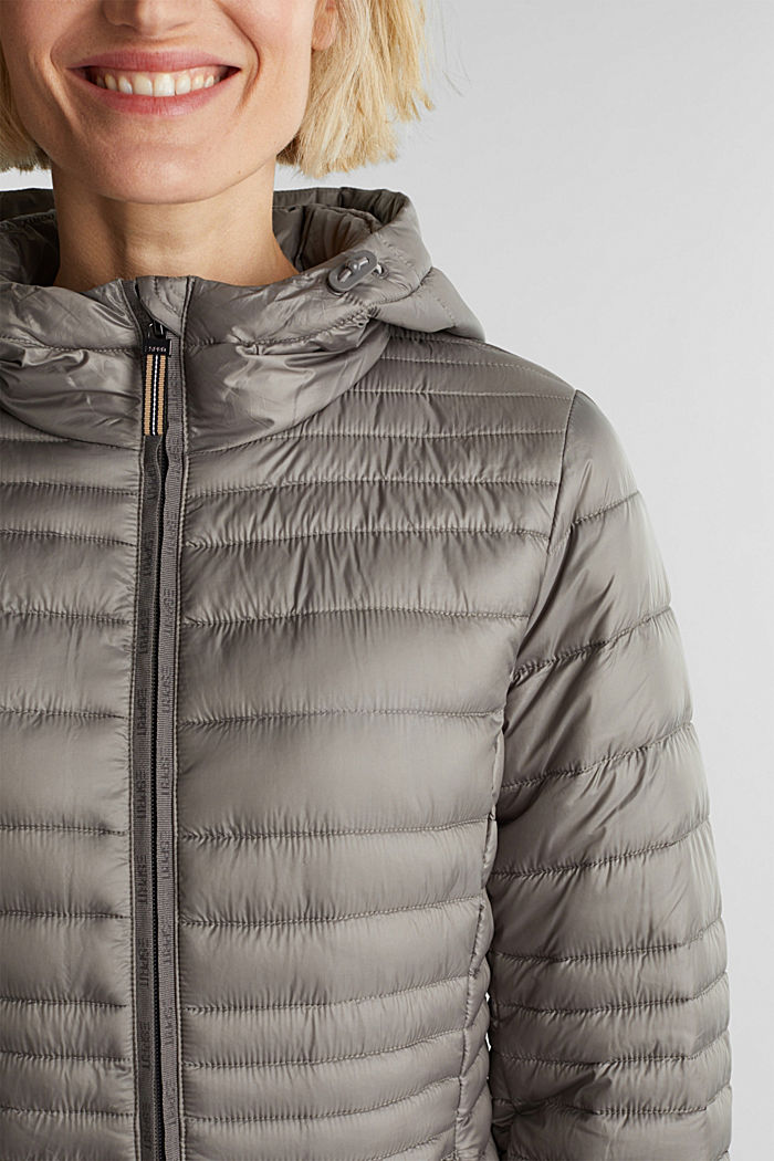 3M™ Thinsulate™ quilted coat, LIGHT GUNMETAL, detail image number 2