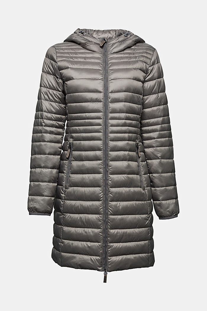 3M™ Thinsulate™ quilted coat, LIGHT GUNMETAL, detail image number 6