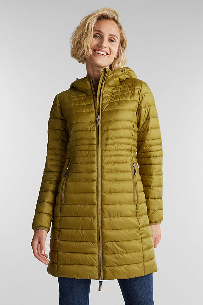3M™ Thinsulate™ quilted coat, OLIVE, detail image number 0