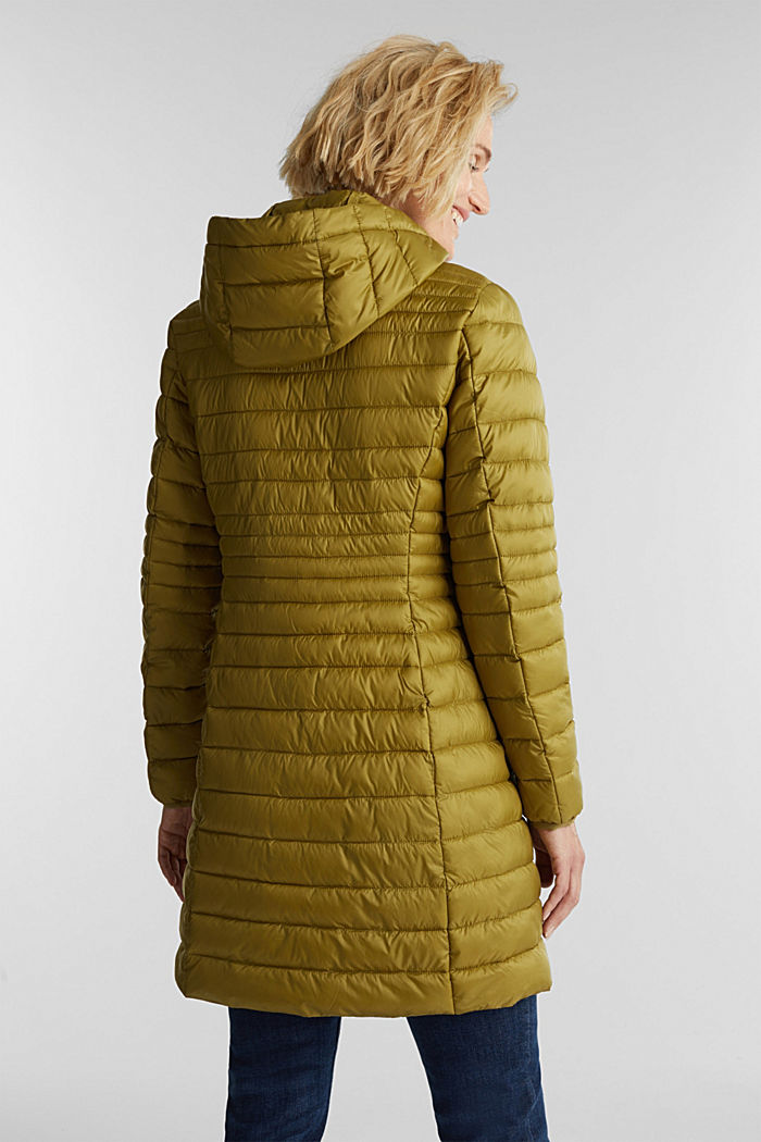 3M™ Thinsulate™ quilted coat, OLIVE, detail image number 3