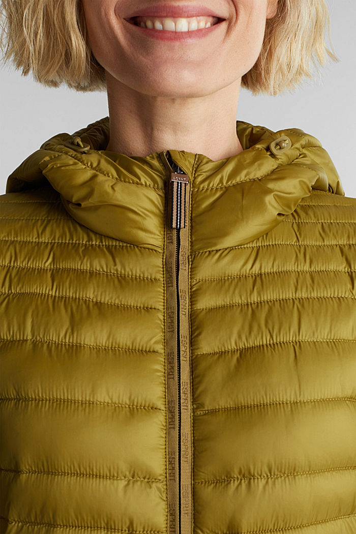 3M™ Thinsulate™ quilted coat, OLIVE, detail image number 2