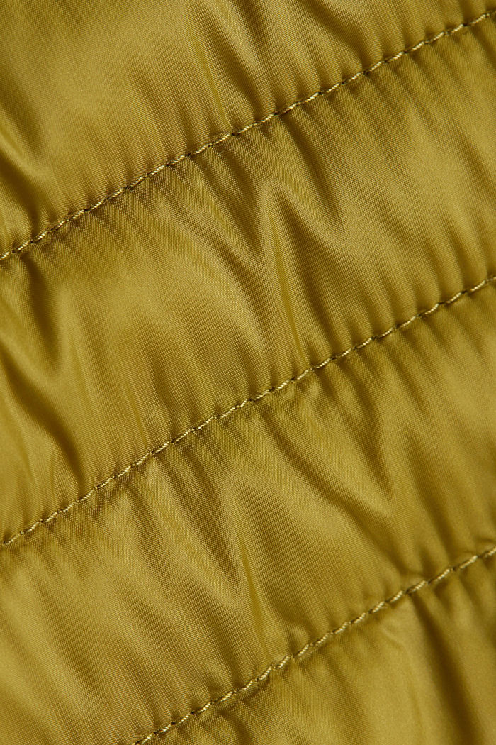 3M™ Thinsulate™ quilted coat, OLIVE, detail image number 4