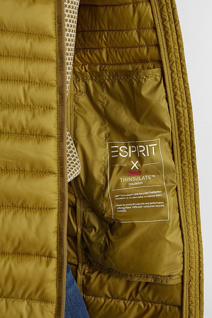 3M™ Thinsulate™ quilted coat, OLIVE, detail image number 5