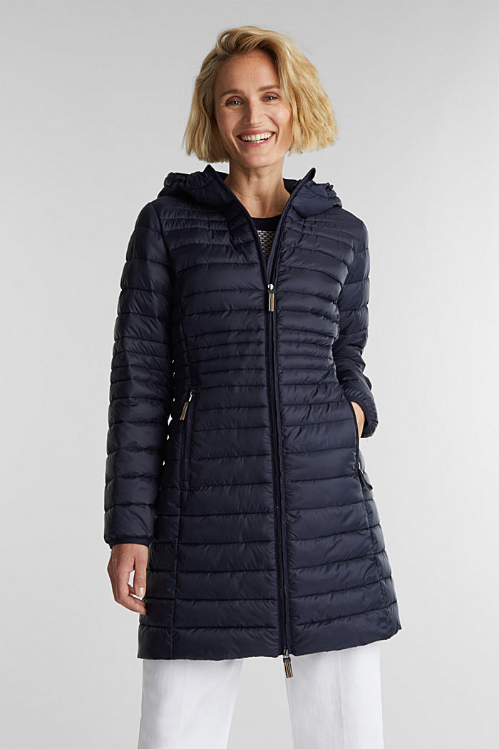3M™ Thinsulate™ quilted coat, NAVY, detail image number 0