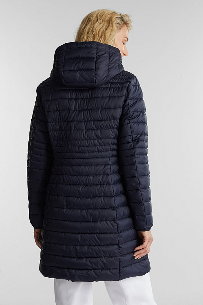 3M™ Thinsulate™ quilted coat, NAVY, detail image number 2
