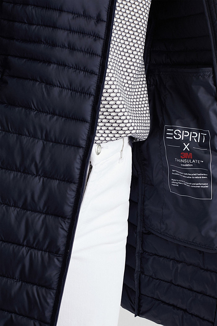 3M™ Thinsulate™ quilted coat, NAVY, detail image number 4