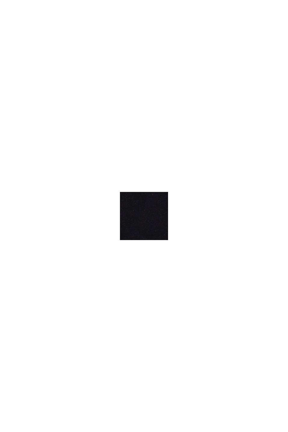 Recycelt: Blazermantel aus Woll-Mix, BLACK, swatch