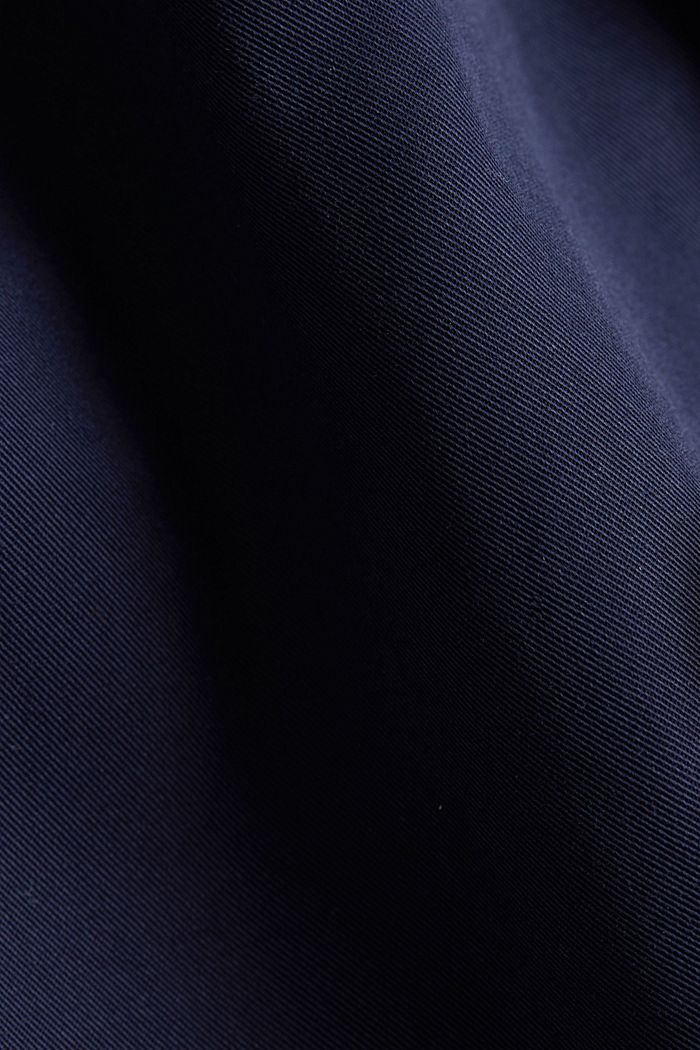 Trench coat with adjustable padding, NAVY, detail image number 4