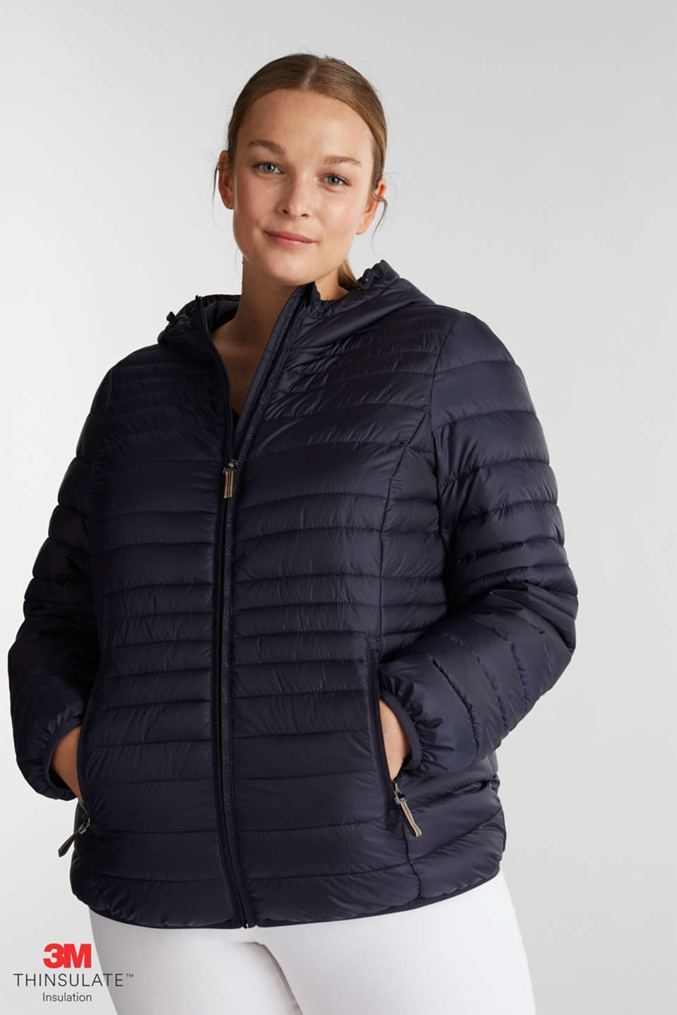 Esprit - Veste Curvy au rembourrage 3M™ Thinsulate™