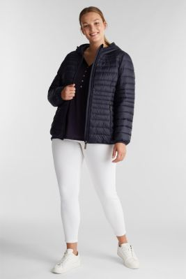 Curvy jacket with 3M™ Thinsulate™ lining, NAVY, detail