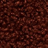 Faux fur fabric, BROWN, swatch