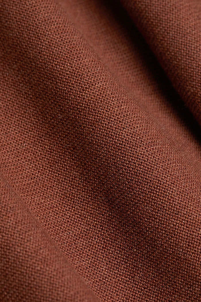Jumper made of 100% organic cotton, BROWN, detail image number 4