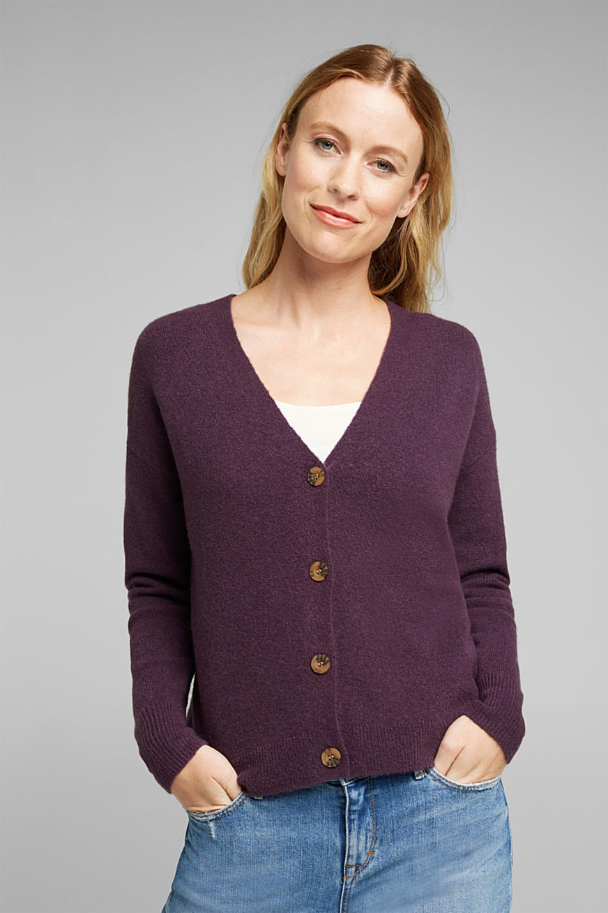 Cardigan aus softem Woll-Mix