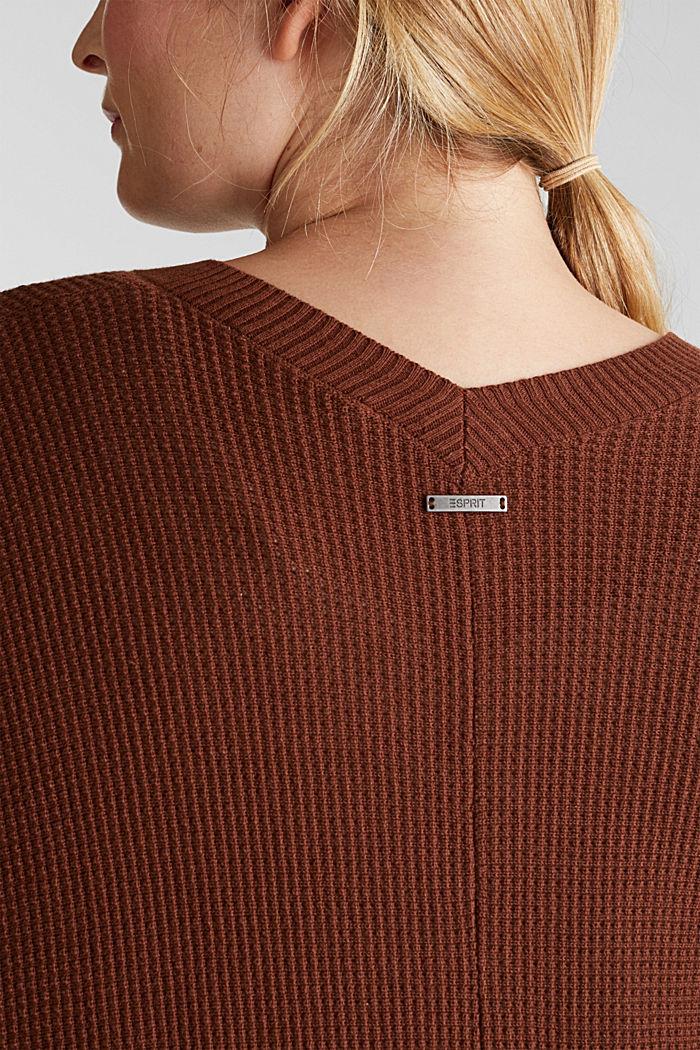 Cardigan mit Organic Cotton, BROWN, detail image number 2