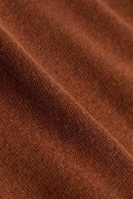 CURVY jumper with organic cotton, TOFFEE 5, detail