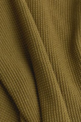 Hoodie with organic cotton, OLIVE 5, detail