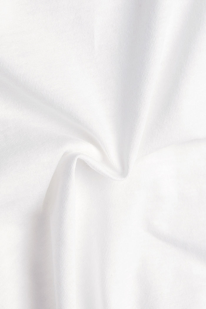 Recycled: 100% cotton T-shirt, OFF WHITE, detail image number 4