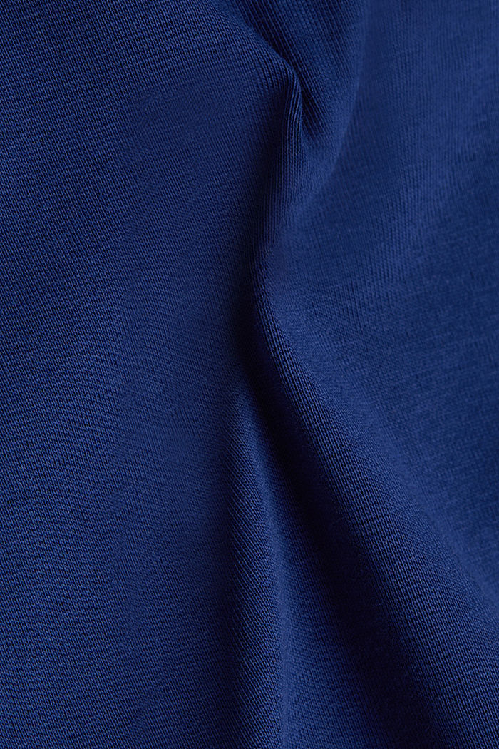 Jersey top made of 100% organic cotton, DARK BLUE, detail image number 3