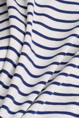 Striped top made of 100% organic cotton, OFF WHITE, detail