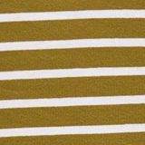 Striped top made of 100% organic cotton, OLIVE, swatch