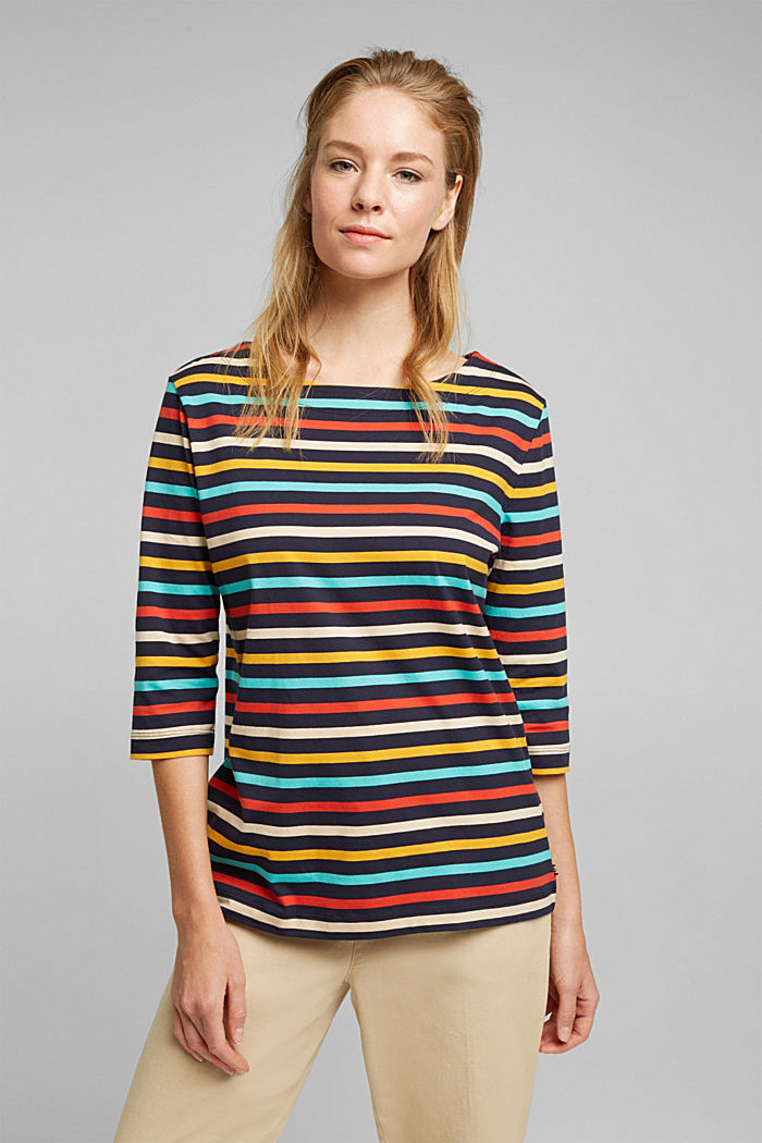 Striped top made of 100% organic cotton