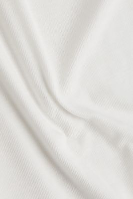2nd skin T-shirt made of stretch lyocell, OFF WHITE, detail