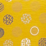 Printed T-shirt in 100% organic cotton, BRASS YELLOW, swatch