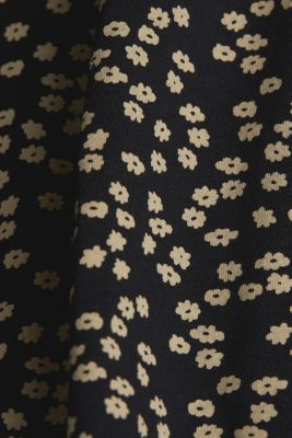 Recycled: printed T-shirt in 100% cotton, BLACK, detail