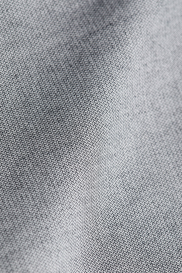 Stretch cotton chinos, LIGHT GREY, detail image number 4