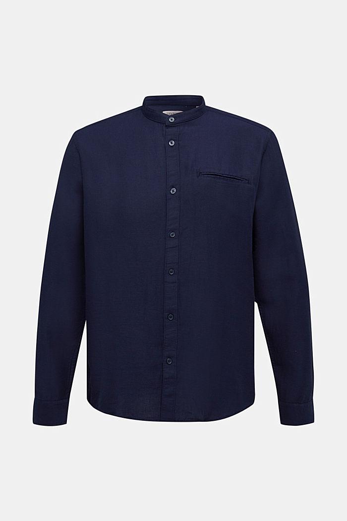 Textured shirt made of 100% organic