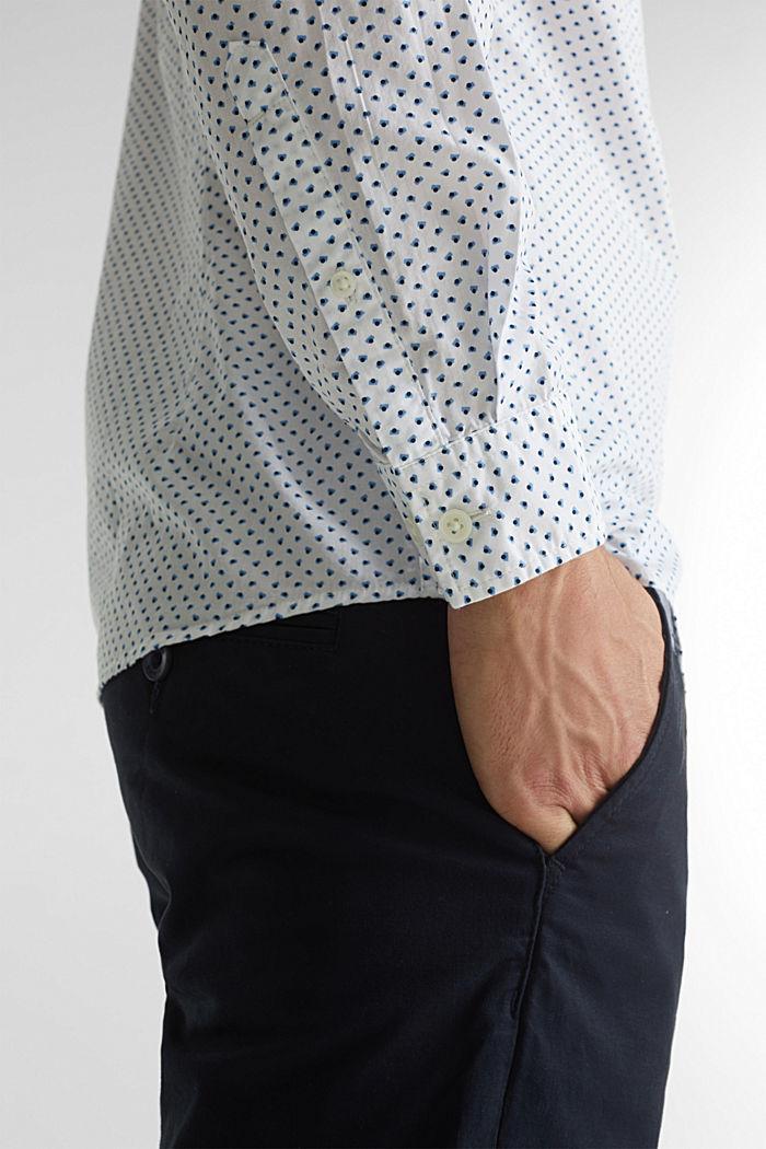Print shirt made of 100% organic, WHITE, detail image number 2