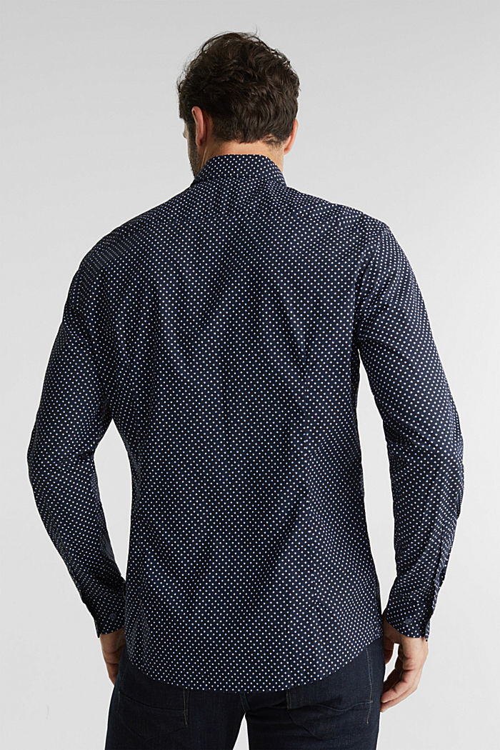 Print shirt made of 100% organic, NAVY, detail image number 3