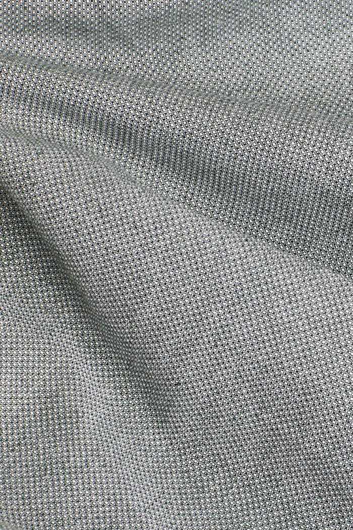 Textured shirt, 100% organic cotton, LIGHT KHAKI, detail image number 3