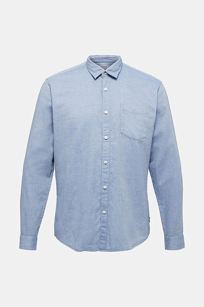 Textured shirt, 100% organic cotton