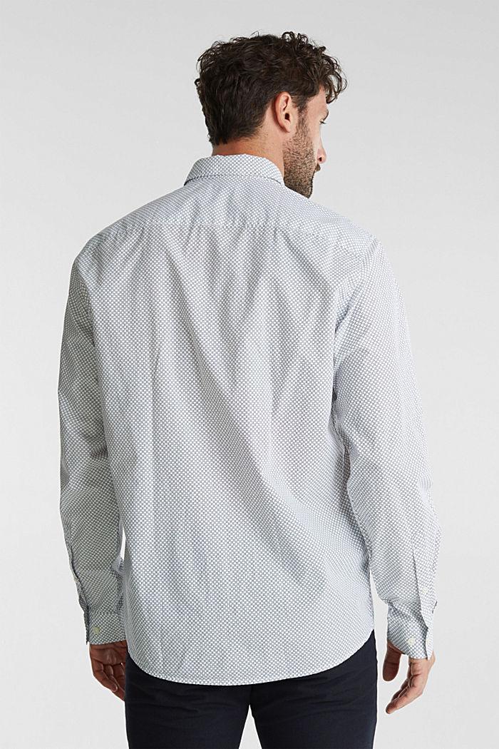 Print shirt made of 100% organic, WHITE, detail image number 3