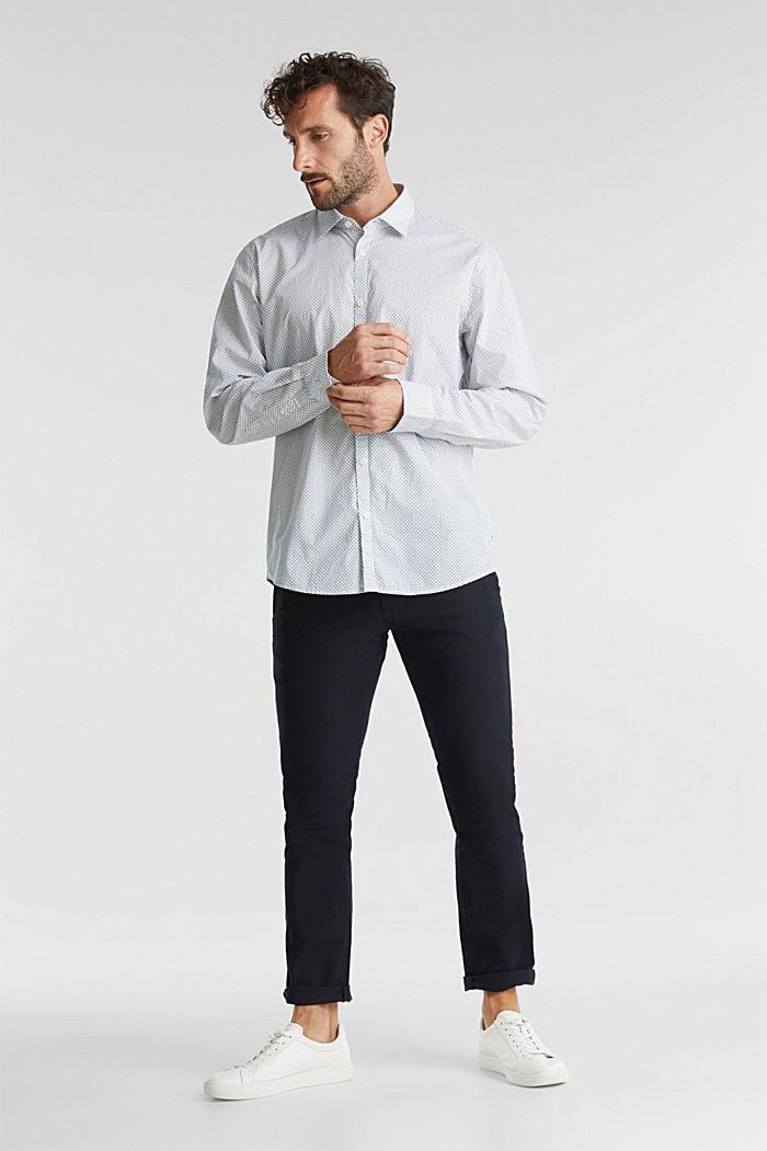 Print shirt made of 100% organic, WHITE, detail image number 5