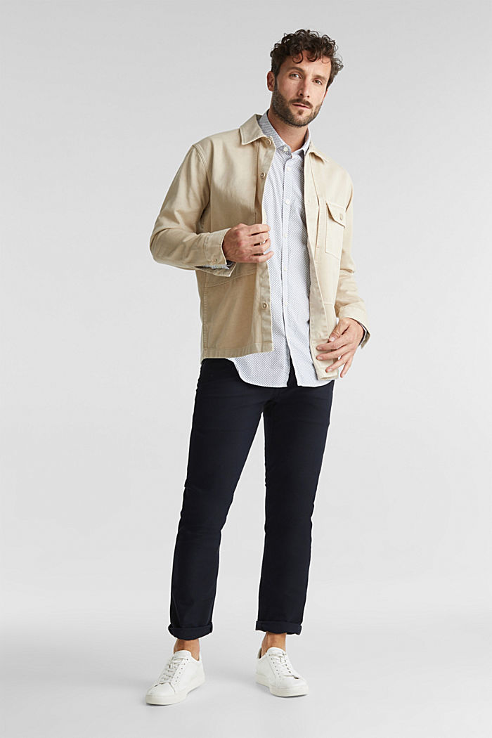 Print shirt made of 100% organic, WHITE, detail image number 1