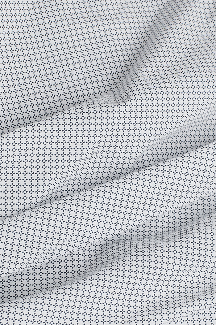 Print shirt made of 100% organic, WHITE, detail image number 4
