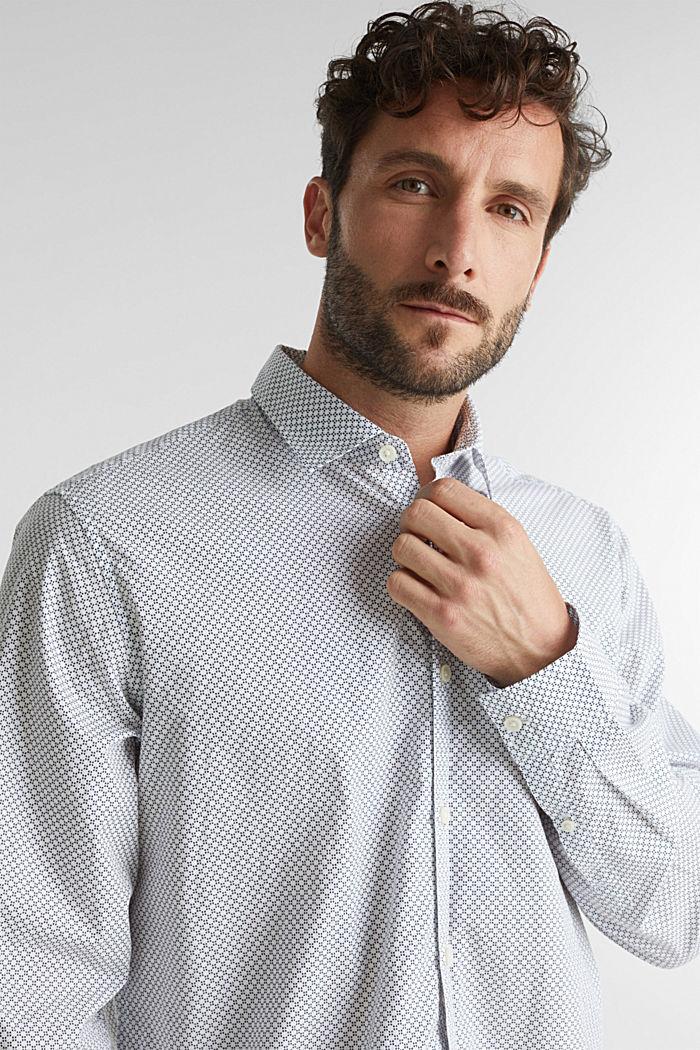 Print shirt made of 100% organic