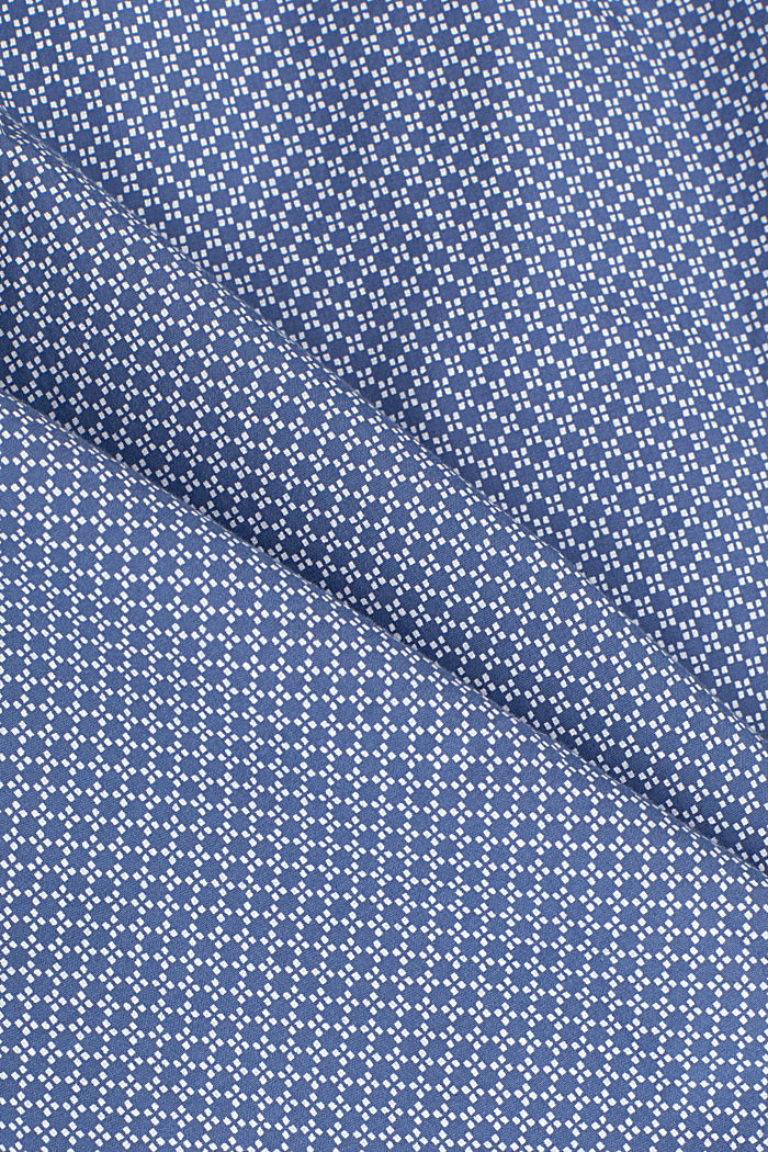 Print-Hemd aus 100% Organic Cotton, GREY BLUE, detail image number 4