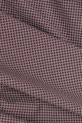 Print shirt made of 100% organic, BORDEAUX RED 4, detail