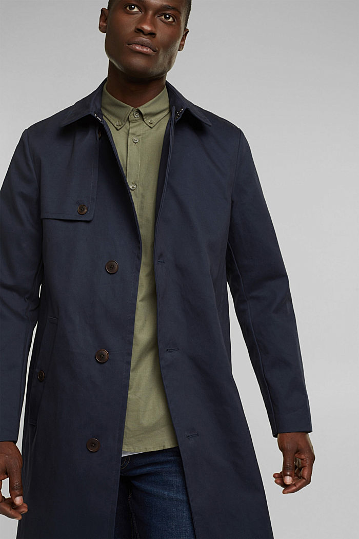 Trenchcoat aus Organic Cotton