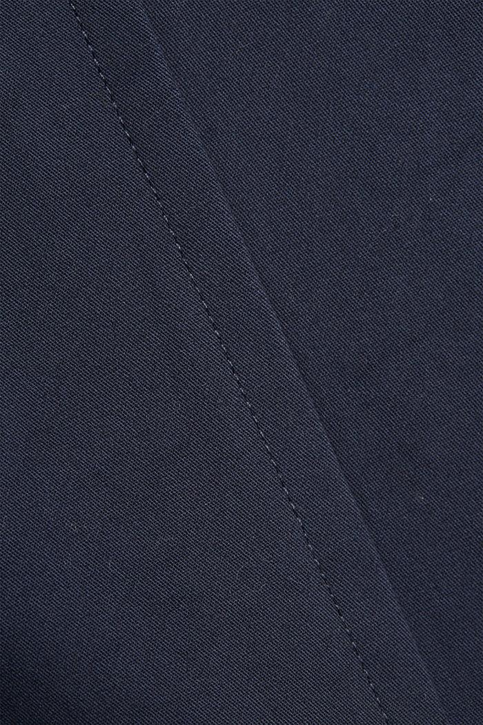 Trenchcoat aus Organic Cotton, DARK BLUE, detail image number 5