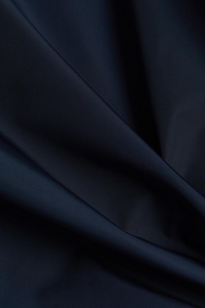 Lightly padded biker jacket, DARK BLUE, detail image number 5