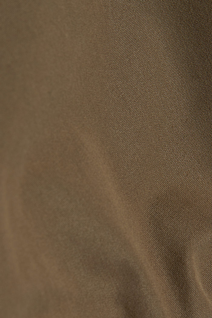 Lightweight outdoor jacket made of blended cotton, BROWN GREY, detail image number 4
