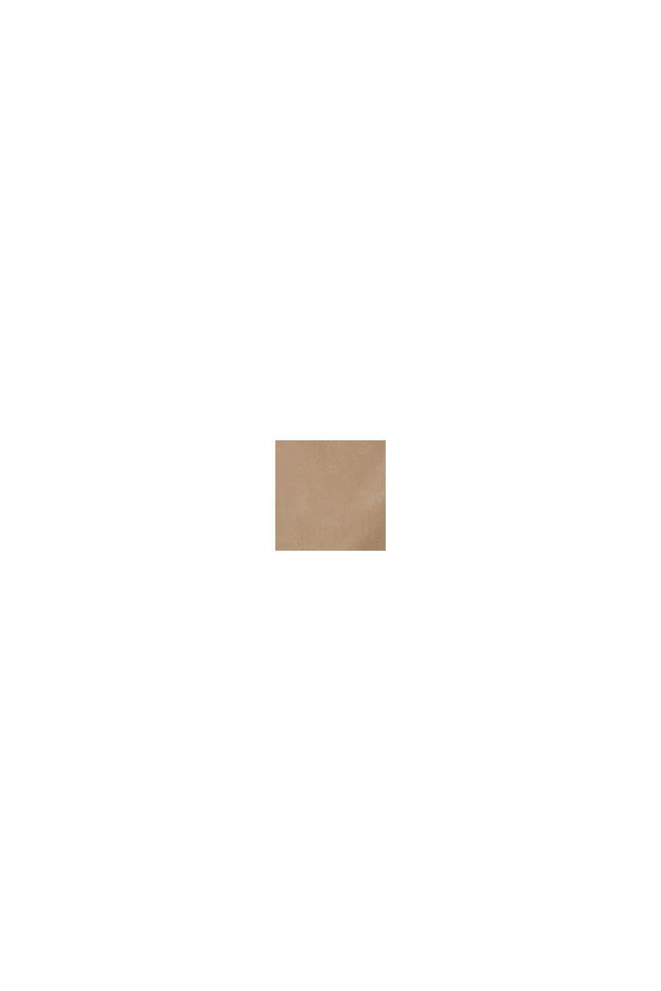 Giacca leggera outdoor in misto cotone, BROWN GREY, swatch