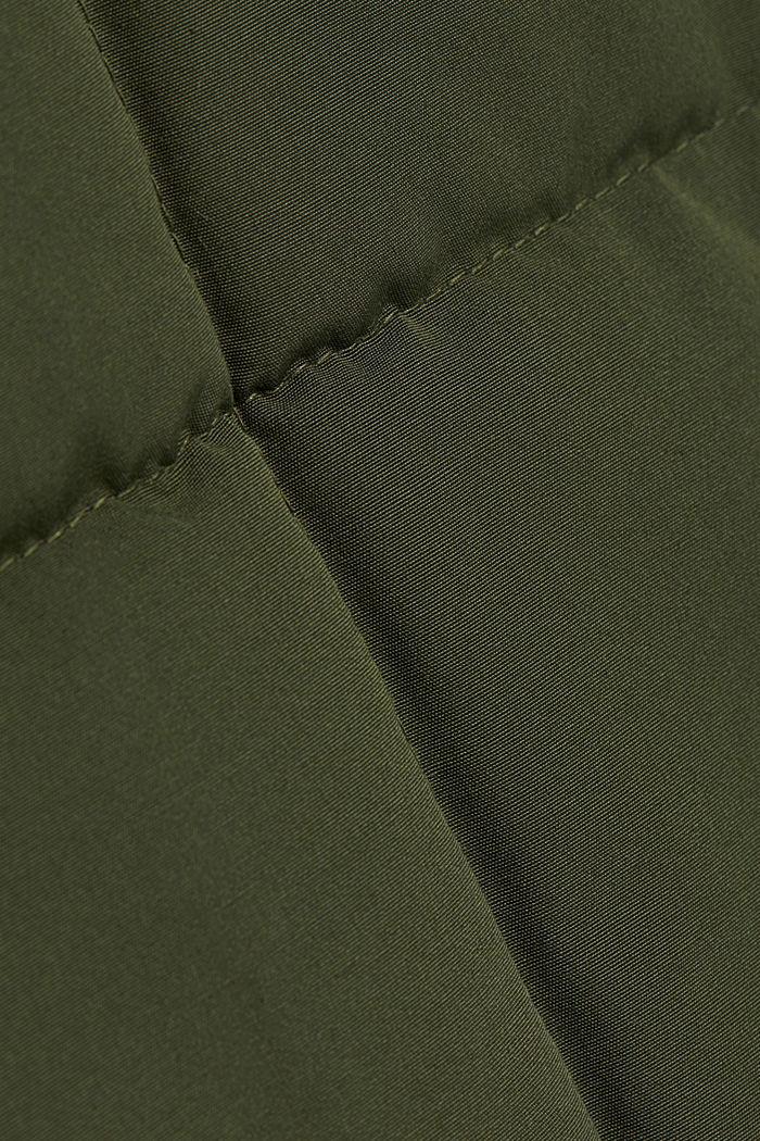 Steppjacke mit 3M™ Thinsulate™-Füllung, DARK KHAKI, detail image number 4