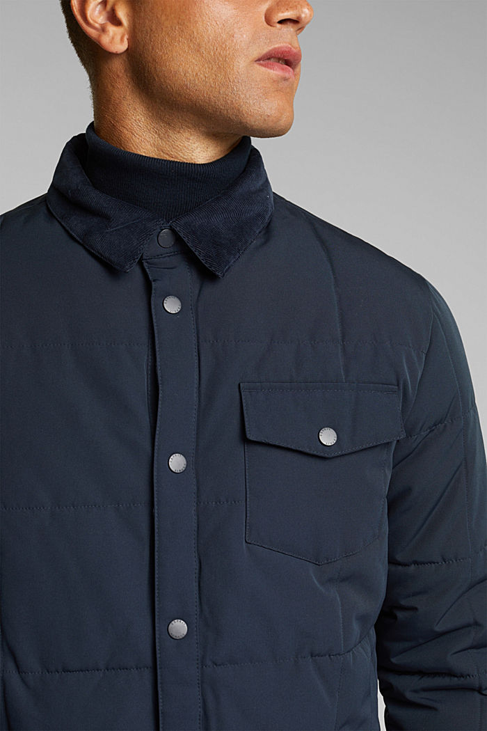 Quilted jacket with 3M™ Thinsulate™ filling, DARK BLUE, detail image number 2
