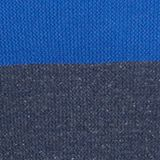 Colour block jumper, organic cotton, BRIGHT BLUE, swatch