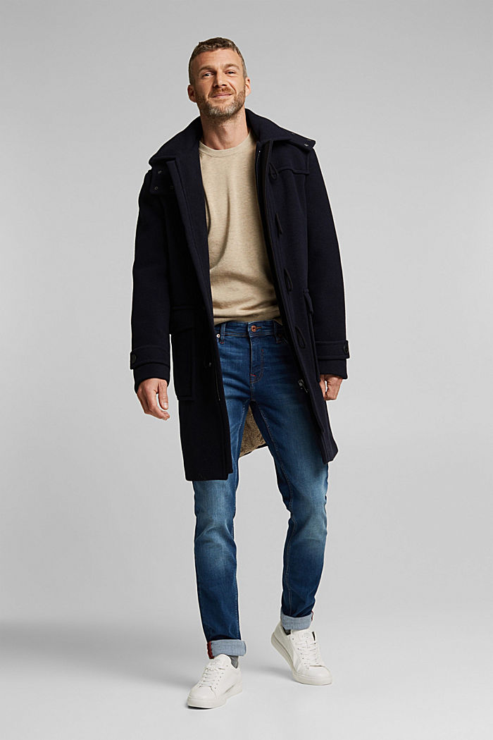 Pullover aus 100% Pima Organic Cotton, BEIGE, detail image number 1
